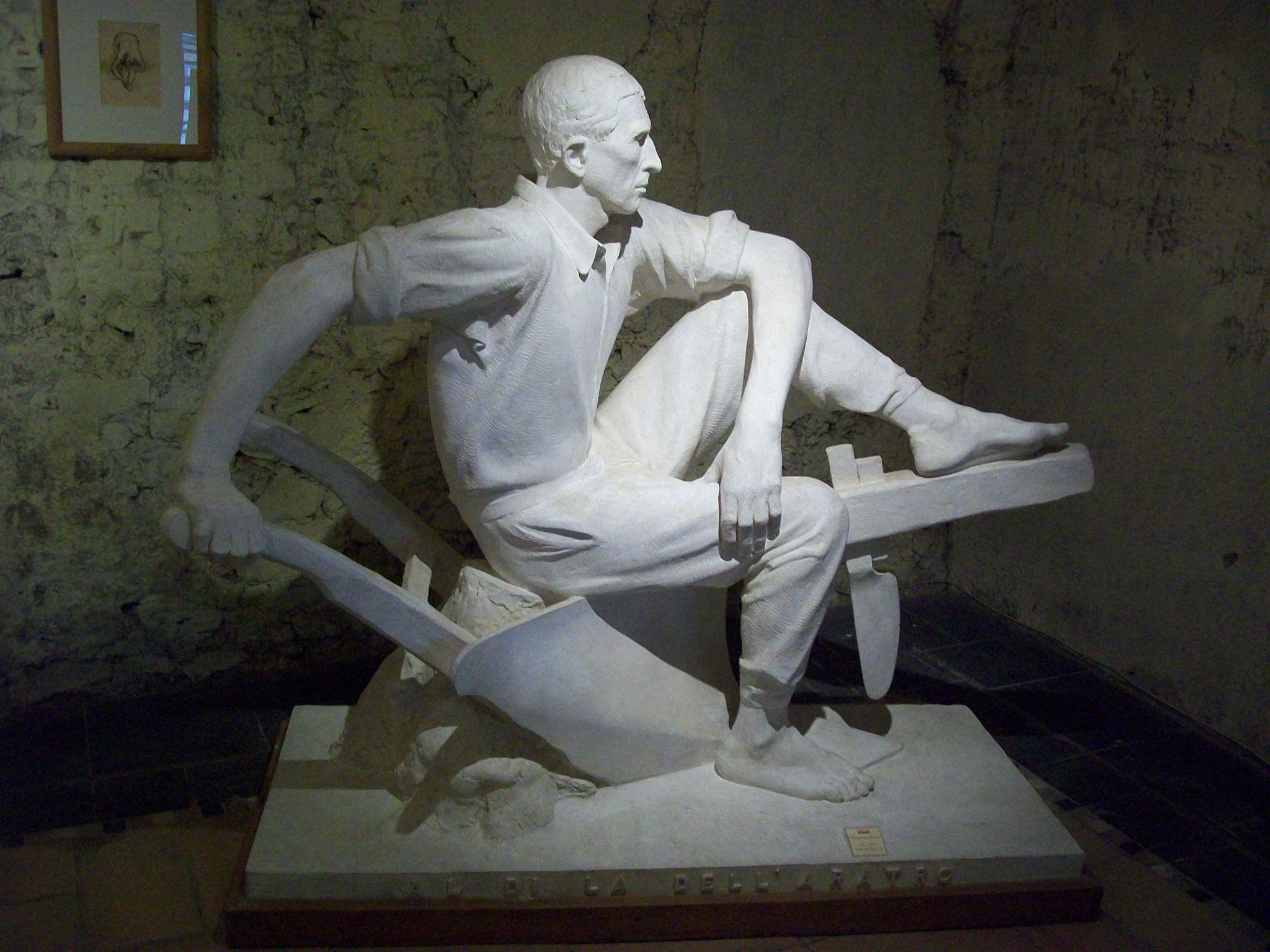 Domenico Ponzi - Al di là dell'aratro 1937