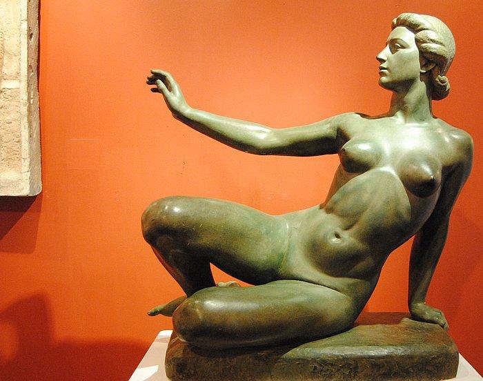 Girolamo Piccoli - Mostra Percorsi della scultura in Italia dalla Secessione al Novecento (1915-1935) Foto Luigi Scialanca