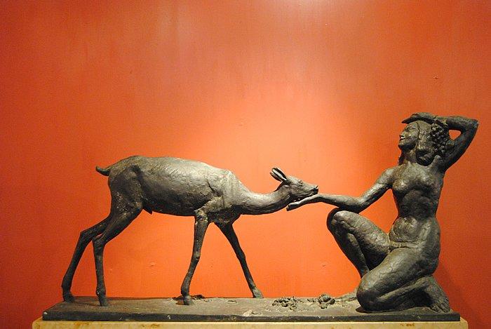 Guido Calori - Mostra Percorsi della scultura in Italia dalla Secessione al Novecento (1915-1935) Foto Luigi Scialanca