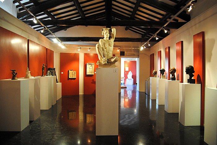 Mostra Percorsi della scultura in Italia dalla Secessione al Novecento (1915-1935) Foto Luigi Scialanca