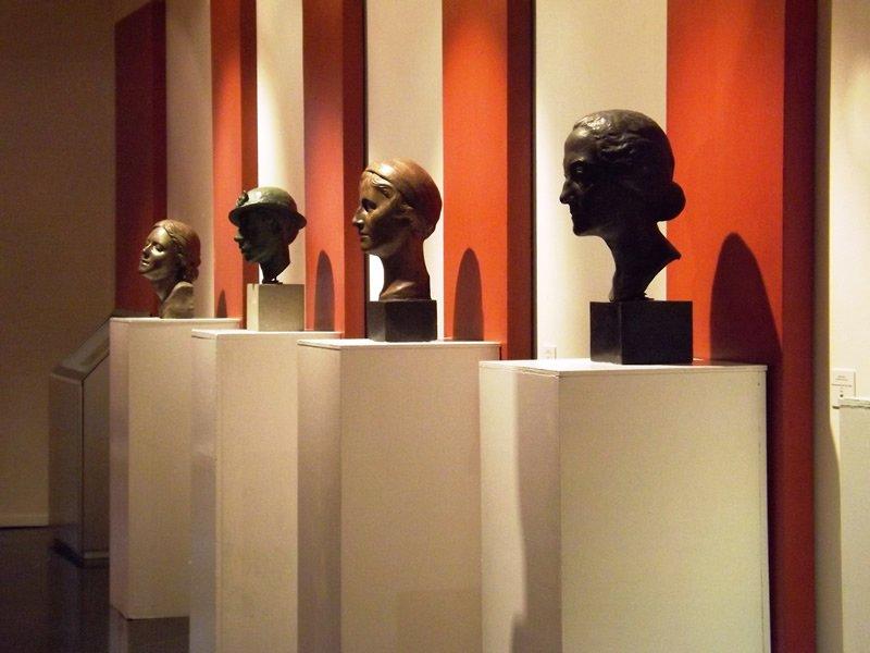 Sculture di Attilio Torresini, Riccardo Assanti, Francesco Parisi e Lidia Franchetti