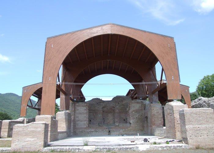 Museo Civico Archeologico Villa di Traiano - Il Triclinio