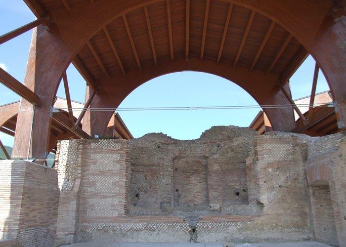 Museo Civico Archeologico Villa di Traiano - Ninfeo del Triclinio