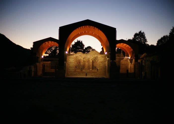 Museo Civico Archeologico Villa di Traiano - Vista notturna del Complesso Monumentale
