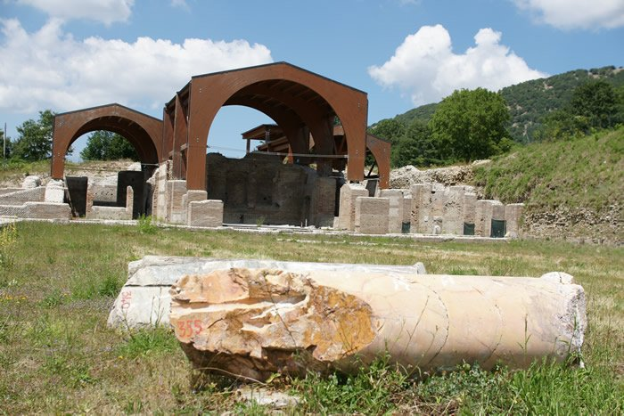 Museo Civico Archeologico Villa di Traiano - il Complesso Monumentale (2)