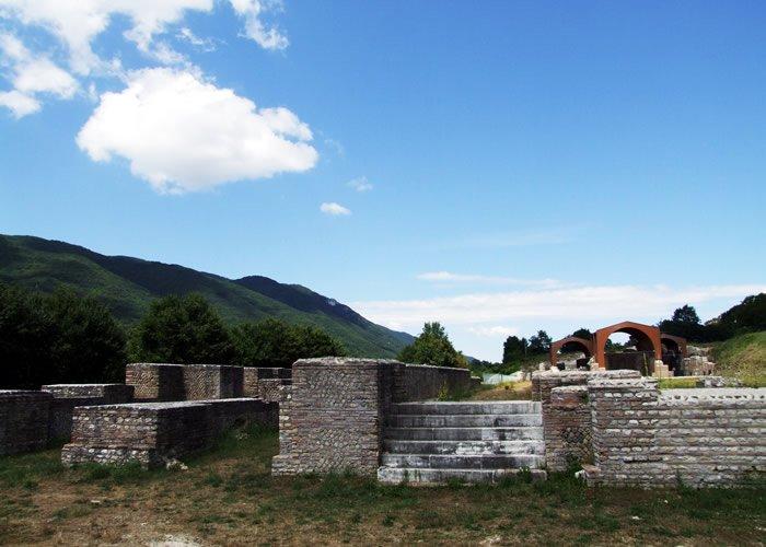 Museo Civico Archeologico Villa di Traino - Ingresso alla platea inferiore