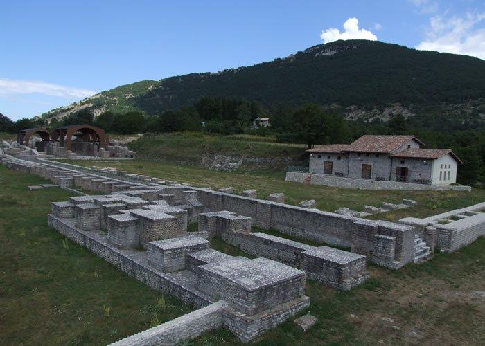 Museo Civico Archeologico Villa di Traino - Vista complessiva del sito archeologico