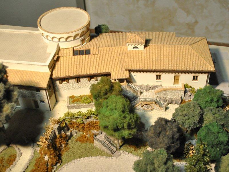Foto_11: Museo di Riofreddo - Plastico di Villa Garibaldi