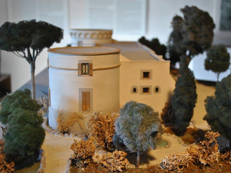 Foto_12: Museo di Riofreddo - Plastico di Villa Garibaldi