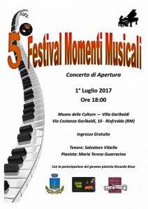 5 Festival momenti musicali